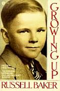 Russell Baker growing up cover image